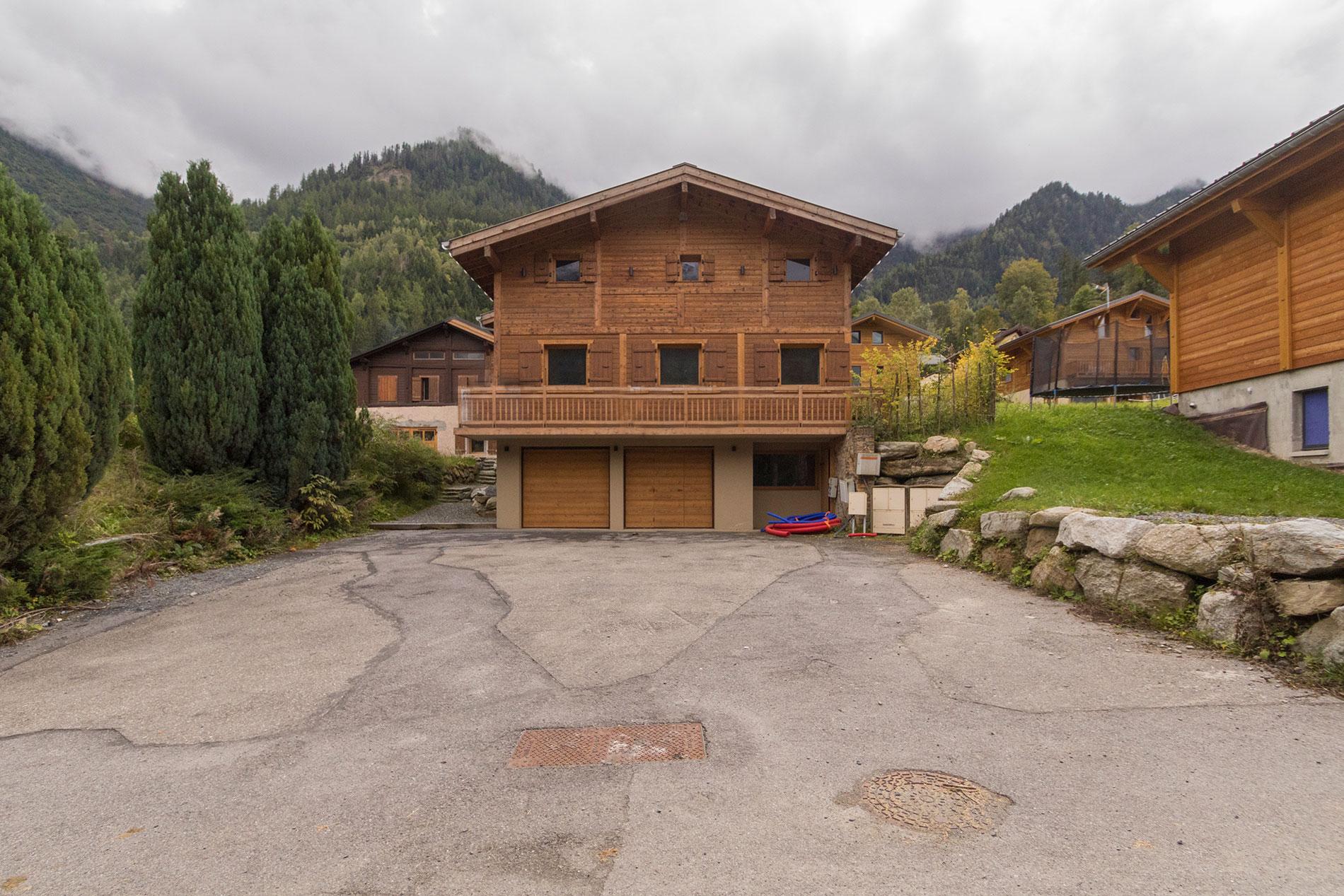 Chalet a les houches chalets mont blanc for Progetta i piani domestici delle tradizioni
